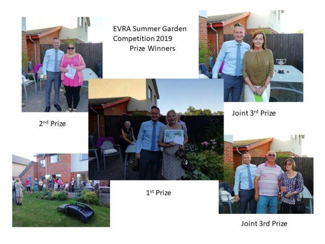 EVRA Summer Garden Prizewinners
