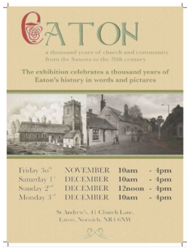 Old eaton Poster Nov 18