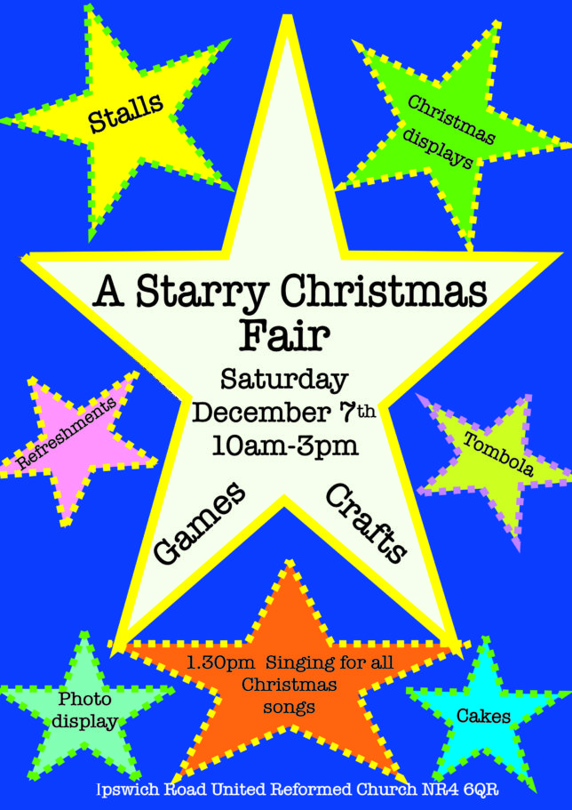poster starry Christmas 5